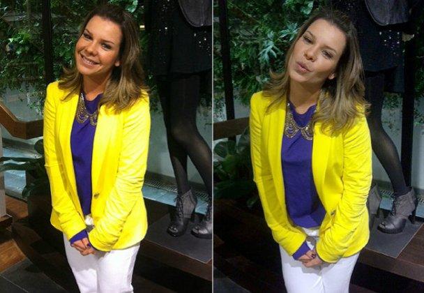blazer amarelo como usar 2