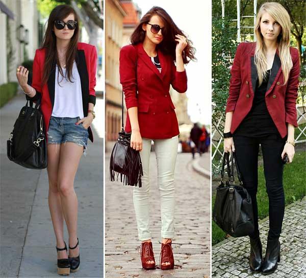 blazer feminino vermelho 7