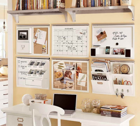 Organization-Ideas-for-Small-Bedrooms-With-Wall-Beige