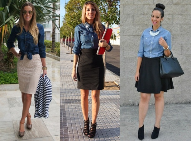 01_look-camisa-jeans_expediente-da-moda_camisa-jeans-com-saia-preta_camisa-jeans-com-saia-feminina_-look-de-trabalho