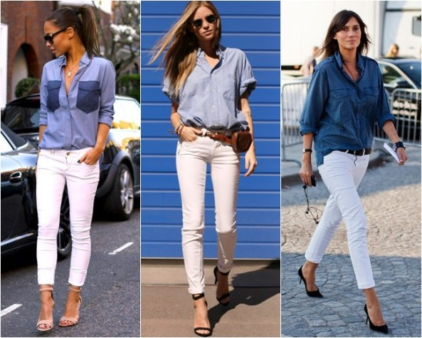 calça-branca-e-camisa-jeans