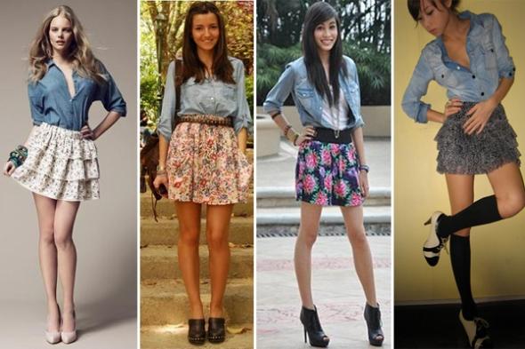 jeans+floral